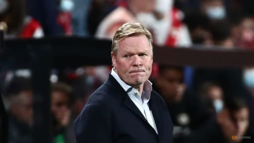 FC Barcelona sack manager Ronald Koeman after poor run of results