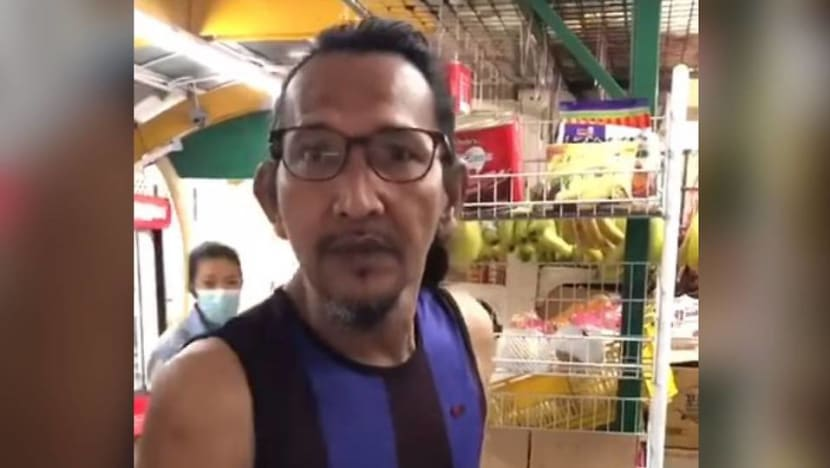 Man in viral minimart video fined for not wearing mask, wounding racial feelings