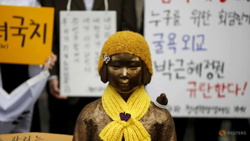 South Korea's Moon to focus on victims in 'comfort women' dispute with Japan