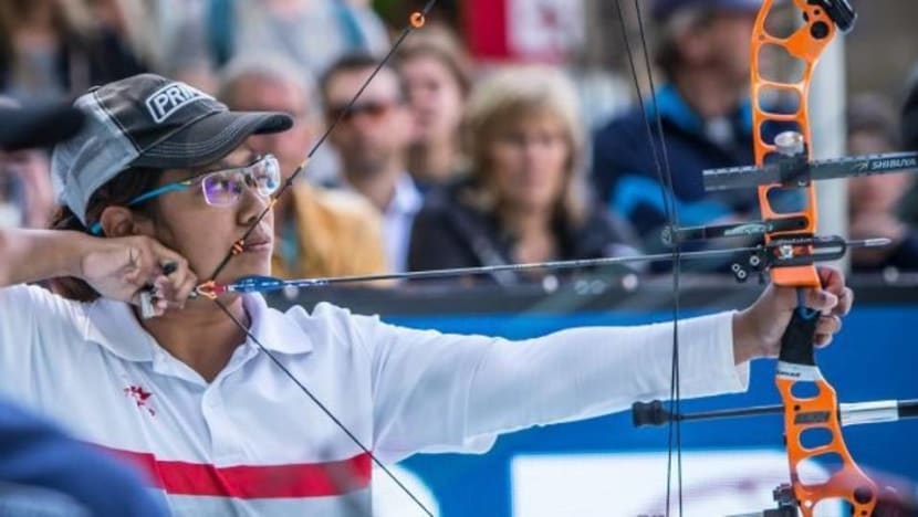 Archer Nur Syahidah Alim claims gold in world para-championships