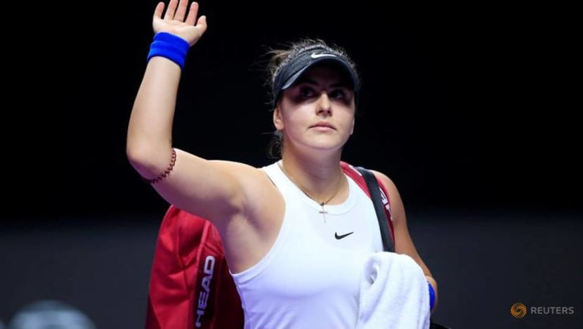 Andreescu's coach set for Australian Open after COVID-19 setback