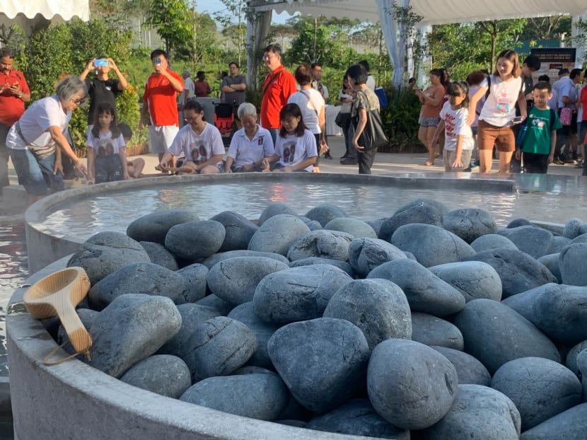 Sembawang Hot Spring Park reopens with cascading pool, cafe and floral walk
