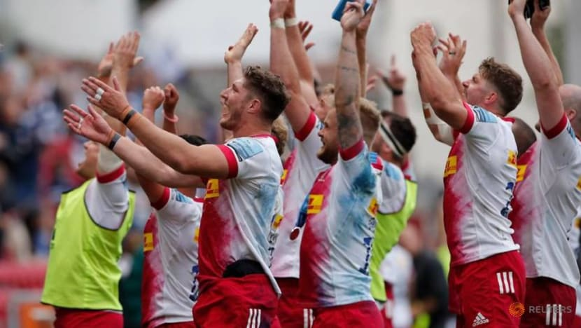 Rugby-Harlequins to face Exeter in Premiership final after comeback win over Bristol