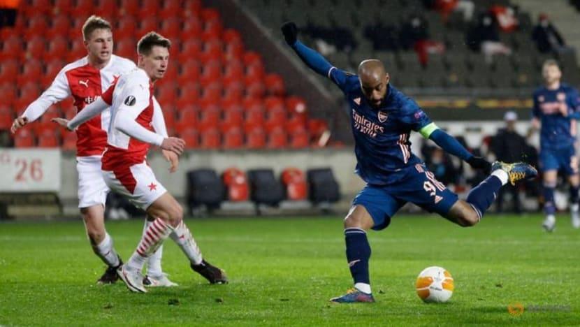 Football: Arsenal thrash Slavia Prague to reach Europa League semis