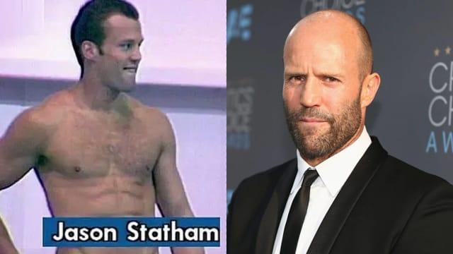 Jason Statham曾是英国跳水运动员 比赛失利视频曝光!