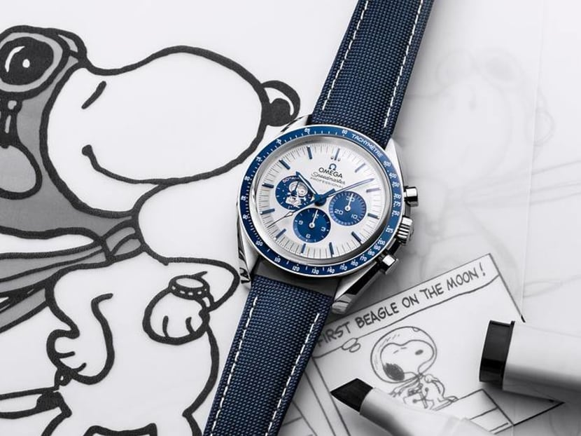 How did Snoopy find its way onto the Omega Speedmaster timepiece?