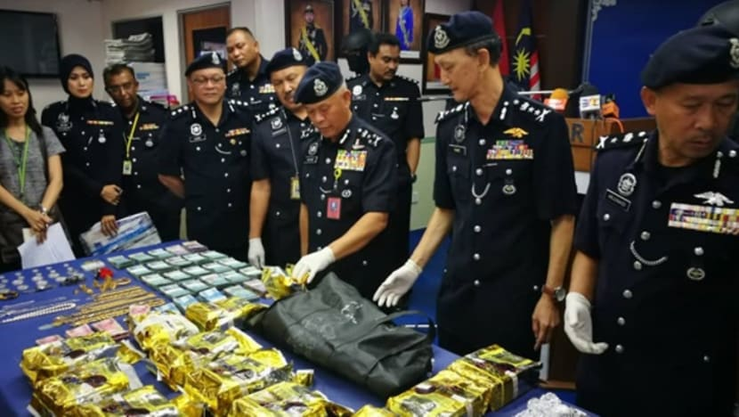 Johor police seize drugs, luxury cars, jewellery and cash worth millions of ringgit