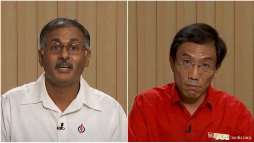 GE2020: In Bukit Batok broadcast, PAP's Murali cites 'strong community plan'; SDP's Chee vows to be 'full-time' MP