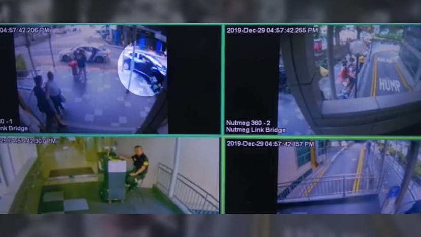 Lucky Plaza accident: CCTV footage emerges of moments before fatal crash