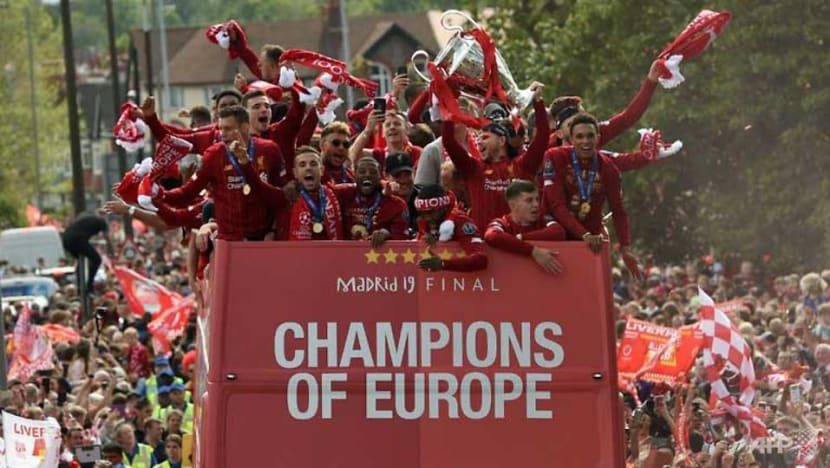 Football: Liverpool turn red for Champions League homecoming party