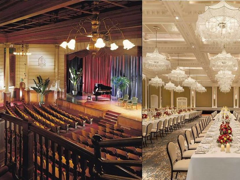 Raffles Hotel's old Jubilee Hall has now been transformed into an events ballroom