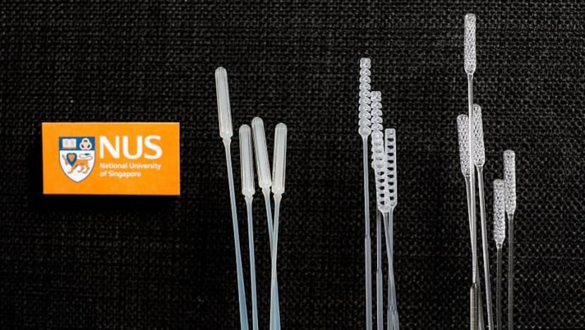 NUS researchers develop 3 new COVID-19 swabs to address shortage