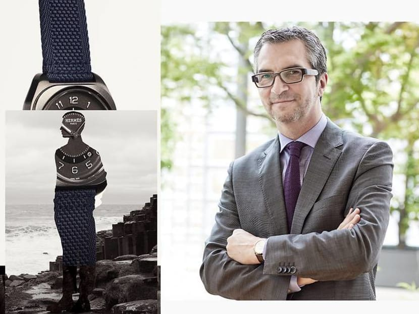 Why the creator of Hermes' new men's watch thinks we need whimsy in our lives