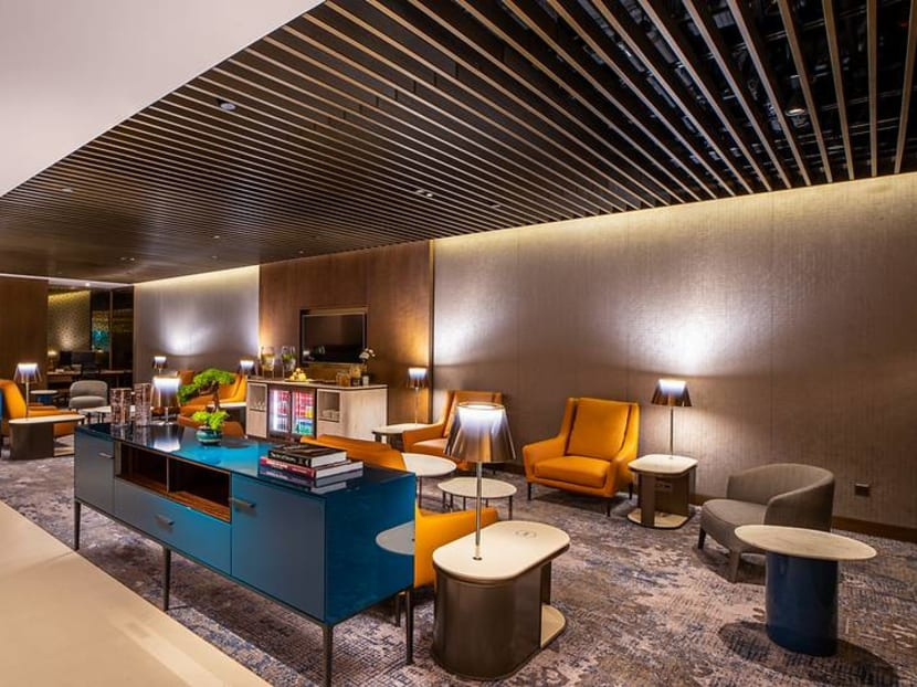 Qatar Airways' Singapore Premium Lounge pushes the boundaries of business class with its bespoke offerings