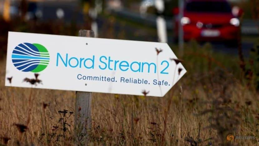 At NATO, Blinken warns Germany over Nord Stream 2 pipeline