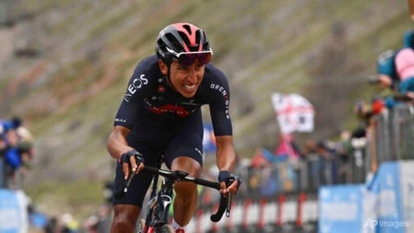 Cycling: Bernal destroys his rivals to take Giro d'Italia lead