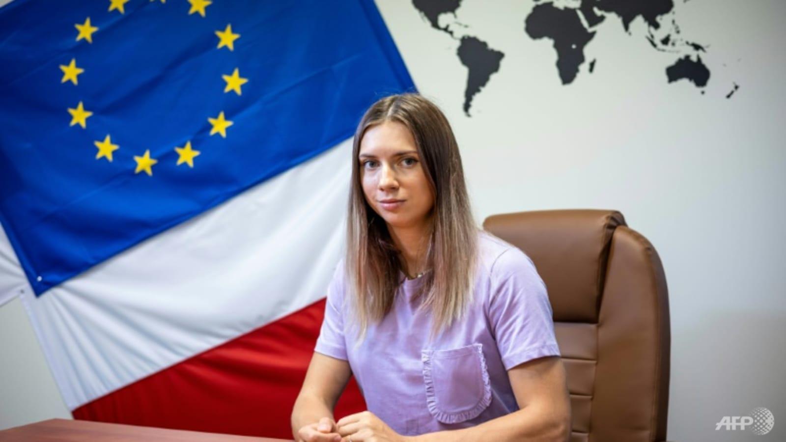 'Stop being afraid', dissident athlete tells Belarusians