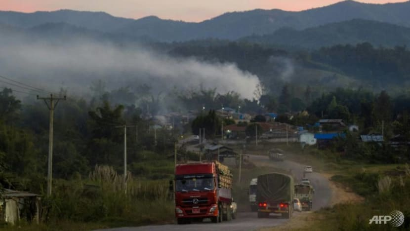 Commentary: Why are Chinese troops assembling on the Myanmar border?