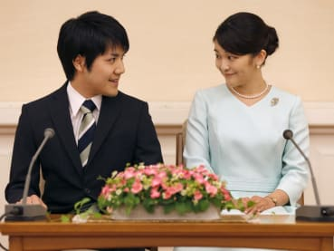 Japan's Princess Mako gives up crown for love. Plus, 5 other royals who married commoners