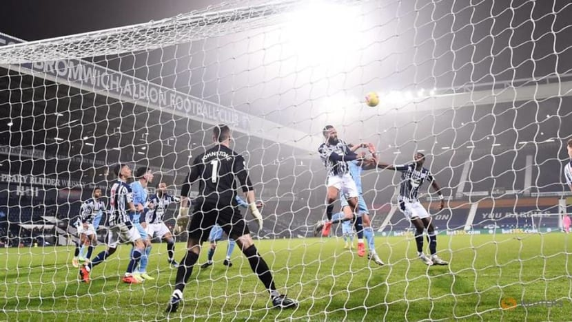 Football: Rampant Man City crush West Brom to return to the top