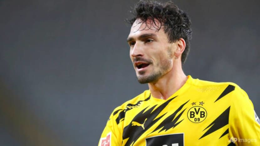 Football: Rare Hummels double lifts Dortmund past Bielefeld