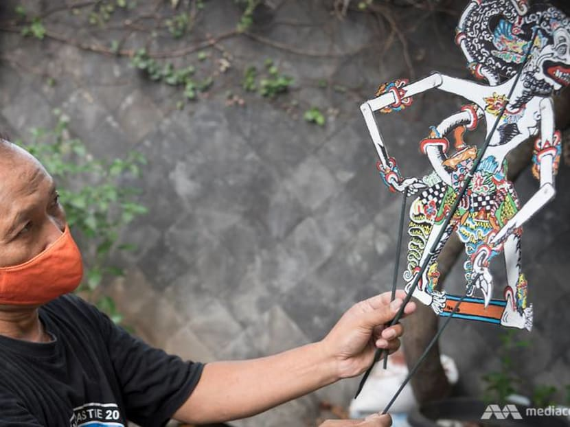 Meet the Indonesian artist who turns household waste into shadow puppets