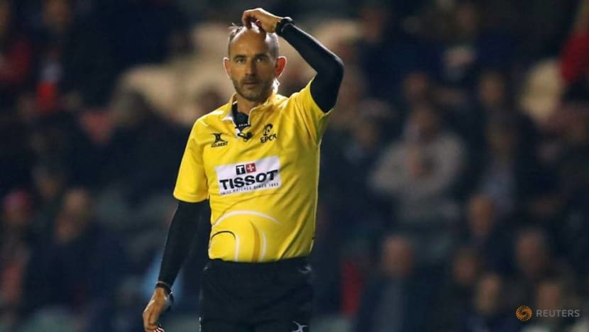 Rugby-Referee Poite admits he got late Lions call wrong in 2017