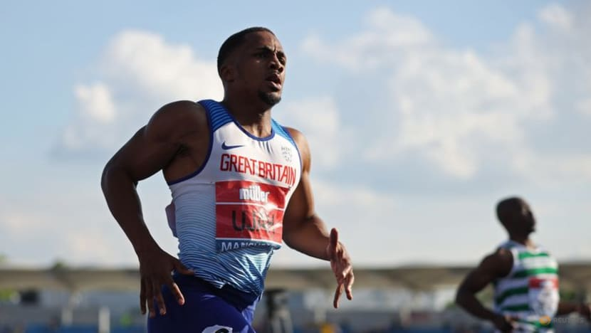 Athletics-Britain's Ujah 'shocked and devastated' by positive test