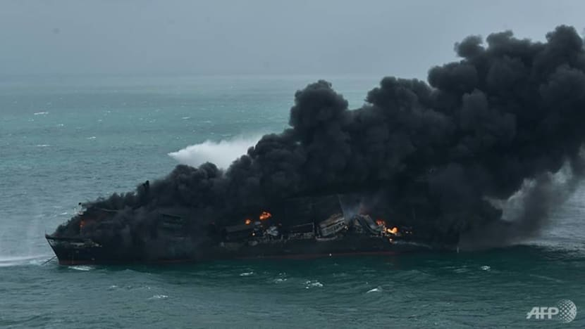 Fight to douse Sri Lanka ship fire could take 'days': Navy chief
