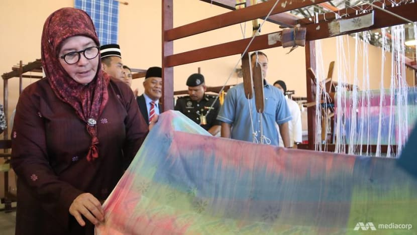 Fit for royalty: Malaysian Queen passionate about reviving Pahang handwoven fabric