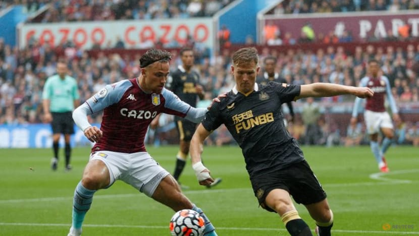 Soccer-Ings volley helps Villa to 2-0 win over Newcastle