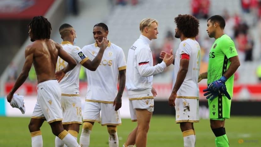 Football: Nice thrash champions Lille as Galtier wins on return to former club