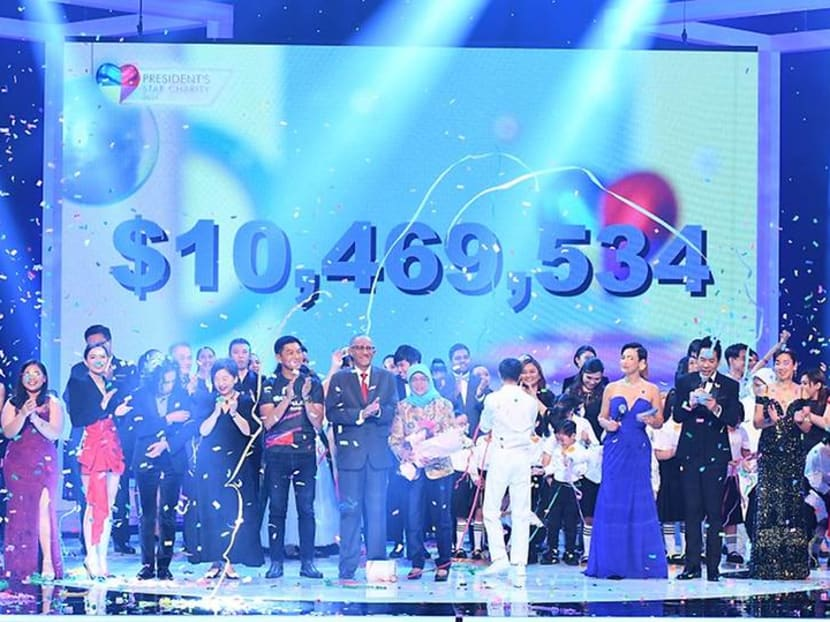 Record-breaking S$10.47m raised at this year's President's Star Charity