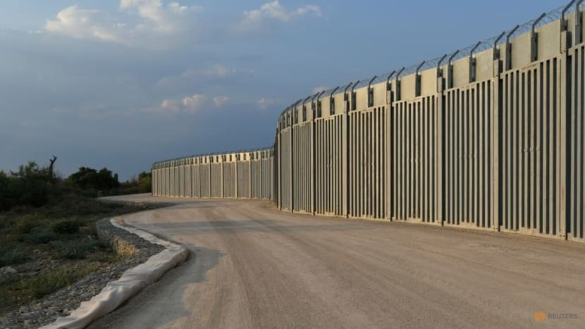 Greece completes border wall extension, surveillance to deter migrants