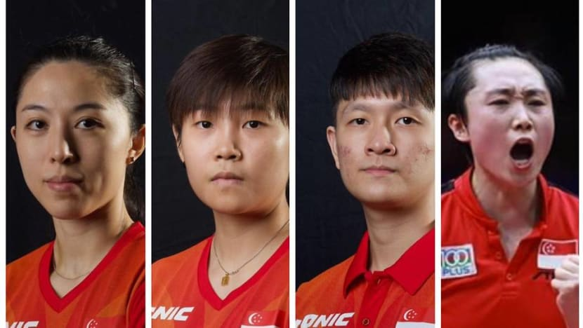No specific medal target for Singapore's table tennis team at Olympics, but expectations remain 'high': STTA