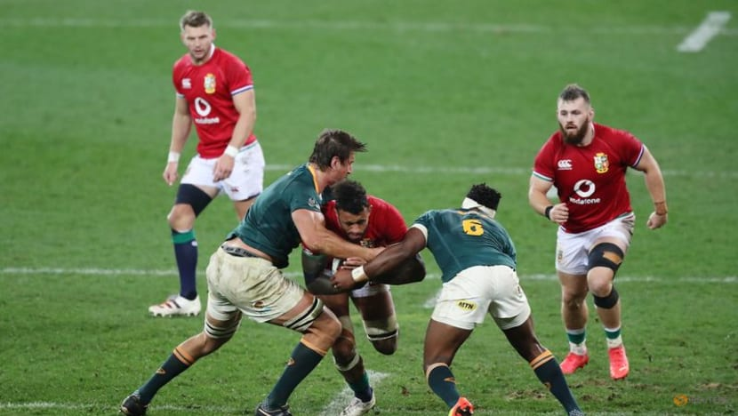 Rugby-Lawes calls on Lions to put bodies on the line to beat Boks