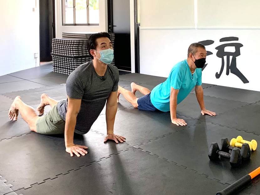 The man behind senior-friendly workout videos in Hokkien, Mandarin and more