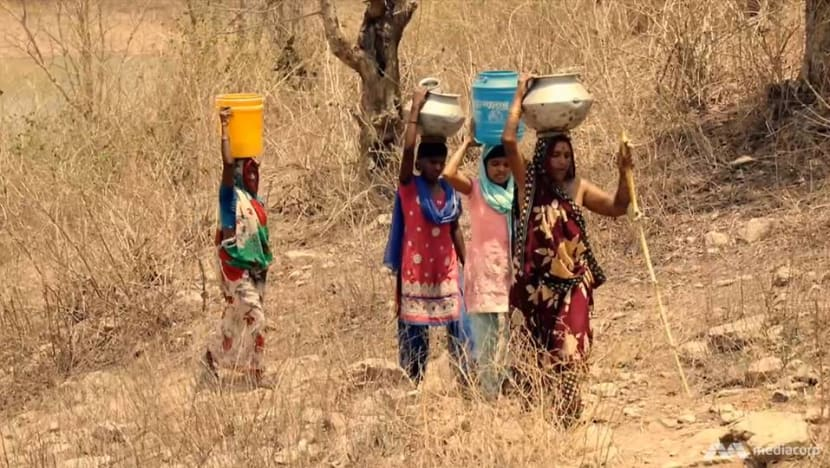 Commentary: In parched India, collecting water turns millions into second-class citizens