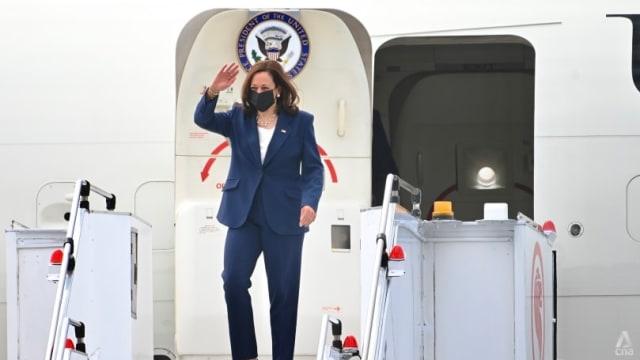 美国副总统哈里斯飞抵我国 展开为期三天访问