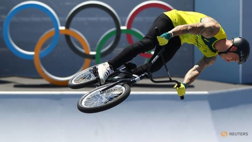Olympics-Cycling-Australia's Logan wins gold in inaugural BMX freestyle contest