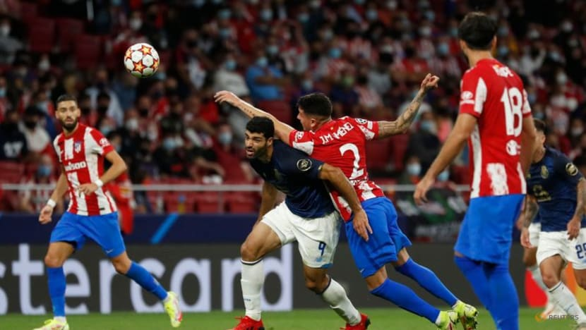 Football: Atletico draw with Porto as VAR denies visitors