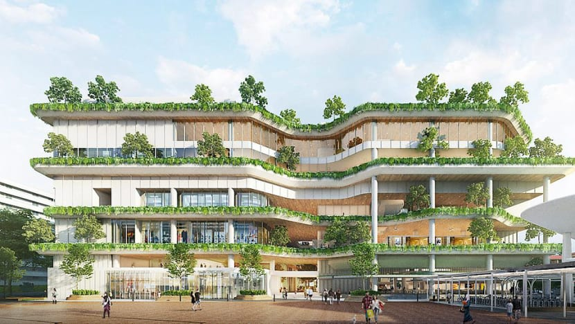 Chong Pang City to get new integrated development with shops, swimming pools, market and hawker centre