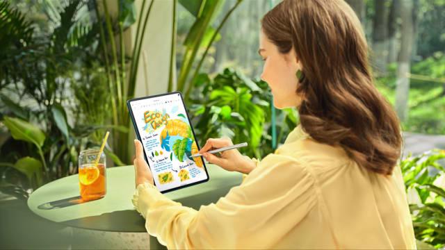 HUAWEI全新MatePad系列产品 首采HarmonyOS操作系统