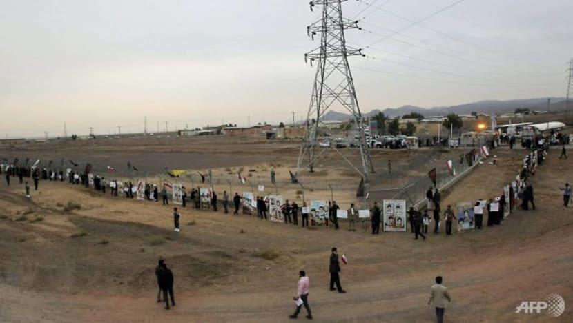 Iran says to resume enrichment at underground plant