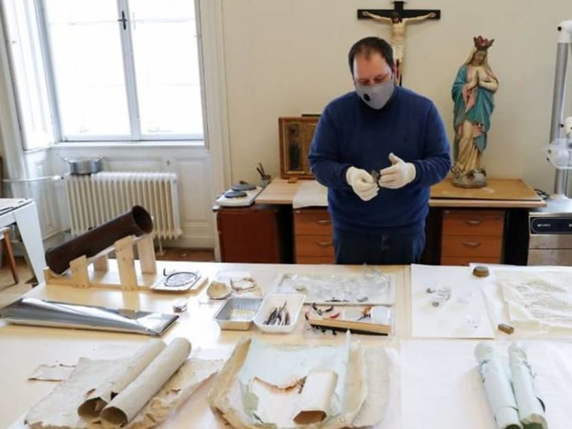 176-year-old time capsule revealed in cross on Hungarian cathedral