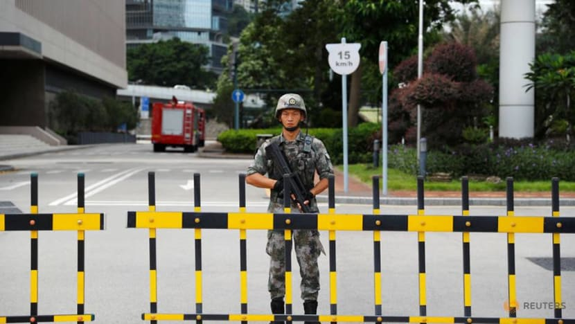 Mainland China troops and police not part of Hong Kong police operations: Government