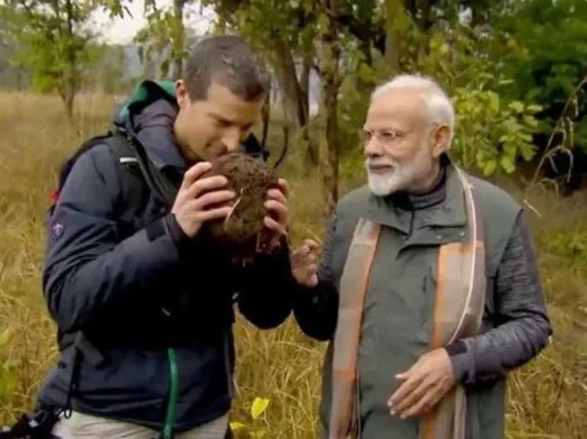 Bear Grylls teams up with Indian PM Narendra Modi for Man Vs Wild episode