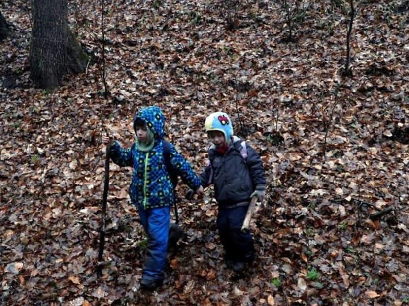 Thousands hit Hungary's famous hiking trail to beat coronavirus blues