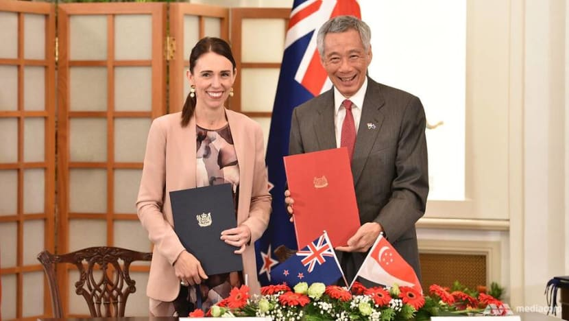 Singapore and New Zealand are 'natural partners', say PMs