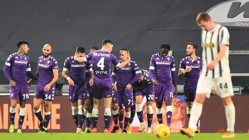 Football: Fiorentina hand 10-man Juve first league defeat this season